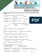 Soal UAS Matematika Kelas 3 SD Semseter 2 Dan Kunci Jawaban .pdf