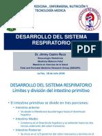 Embriologia respiratorio