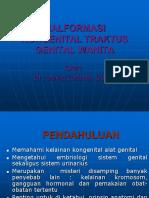19-Malformasi Kongenital Traktus Genital Wanita - dr. David Lotisna, Sp.OG.pptx