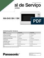 Panasonic Nn s45bhbk