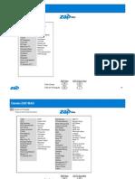 Lista de Canais ZAP