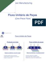 Lean Manufacturing - Fluxo Unitário de Peças (One Piece Flow)