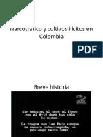 Narcotráfico y cultivos ilícitos en Colombia