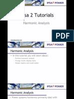 6 Harmonic Analysis
