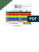 Codigo de Colores Para Electronica Ingenieria