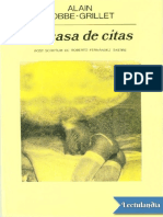 La Casa de Citas - Alain RobbeGrillet
