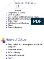 entrepreneurial culture – chapter 13.ppt