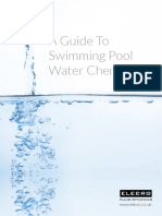 Guide to Swimming Pool Water Chemistry