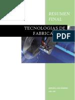Tecnologias de Fabricacion