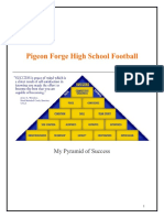 Pigeon Forge High School Pyramid of Success