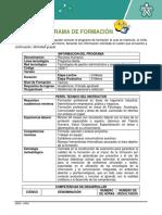 Taller Lectura Dirigida Reconocimiento Del Programa de Formacion (en Proceso)