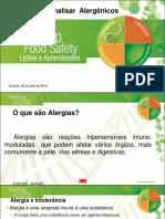 Minicurso Alergenicos 3M