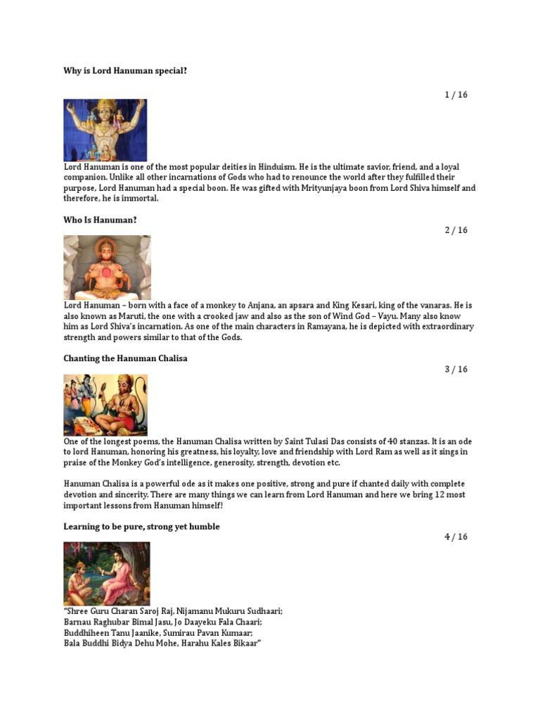 Lord Hanuman | Hindu Mythology | Ramayana