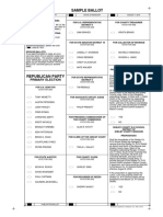 Macon County Republican Party Sample Ballot 8/2018