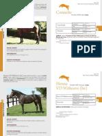 2010 Catalogue Chevaux Agence Pompadour
