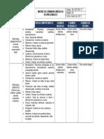 Matriz de Examenes Medicos Ocupacionales
