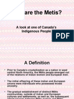 Who Are the Metis