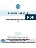 Contoh Penerapan Model Discovery Learning