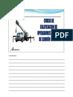 Curso Operadores y Riggers de Camiones Grúa