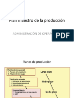 Tema 15 Programación Maestra de Producción