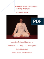 Meditation Training Manual