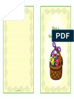 Easter Card 2A