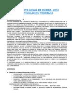 Proyecto de Musica Estimulacion Temprana
