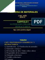 Capitulo i Ing. de Materiales 2016-Vidrios