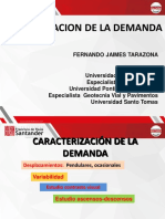 Diapositivas Transporte Urbano Clase 6 Caracterizacion de La Demanda