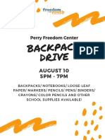 perry backpack drive