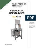 MANUAL DE PEÇAS DE REPOSIÇÃO - SERRA FITA HSF3200 SEG.pdf