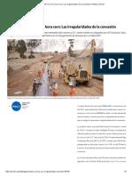Perú 21, Gasoducto del sur en su hora cero