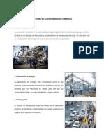 Factores de La Contaminacion Ambiental
