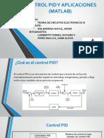 Control Pid y Aplicaciones (Matlab)