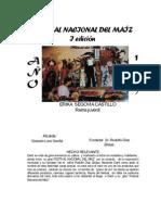 Reinas Año 1977-2009 y Recetas elaboradas con Maiz
