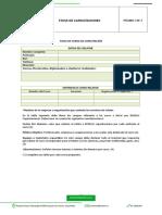 Formato Ficha Capacitaciones