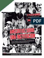 """Anécdotas sobre una institución (Suple """"Ni a palos"""" - Tiempo Argentino 14-12-2014)"""