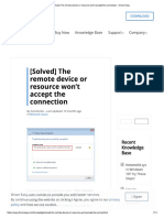 [Solved] the Remote Device or Resource Won't Accept the Connection - Driver Easy