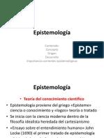 Semana 2. Epistemología.pptx