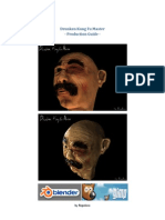 Blender3D Head Character Creation Tutorial (English)