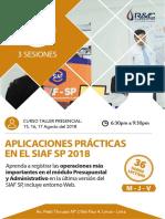 CURSO SIAF SP (AGOSTO 2018)
