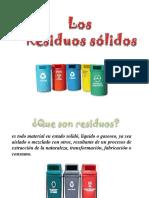 Exposicion Manejo de Residuos Solidos