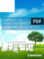 Manual de mantenimiento Productos Nik