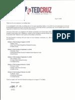 Cruz Debate Letter (1)