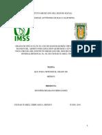 GRADO DE EFICACIA EN EL USO DE MADURADORES CERVICALES PARA EL MANEJO DEL ABORTO POR EXPLUSION QUIRURGICA EN EL SERVICIO DE TOCO CIRUGIA DEL INSTITUTO MEXICANO DEL SEGURO SOCIAL