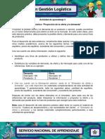 Evidencia 5 Ejercicio Practico Proyeccion de Oferta y Demanda