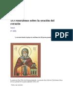 153 Reflexiones Sobre La Oración Del Corazón