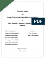 industrial marketing of plastic indusstry