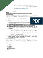 Apuntes de clase de gestion de Procesos de Negocios y Arquitectura de Servicios