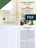 Max Cabantous - La creation de l'Islam (article de Lecture et Tradition nr. 297)